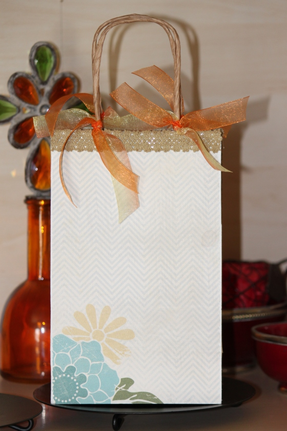 Decorated Gift bag